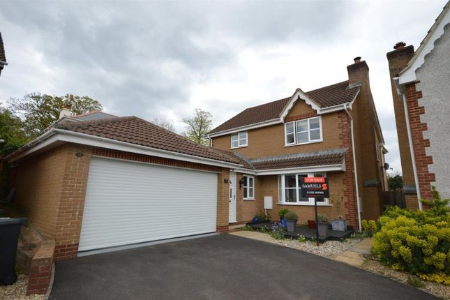 Thumbnail Detached house for sale in Pridhams Way, Exminster, Exeter, Devon