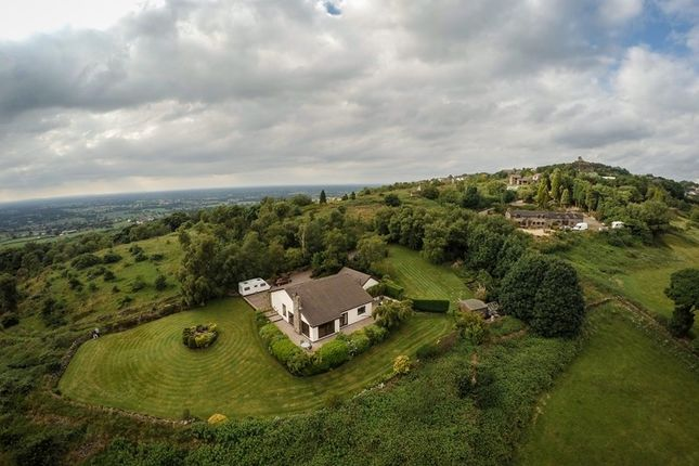 Thumbnail Detached bungalow for sale in Rockside, Mow Cop, Cheshire