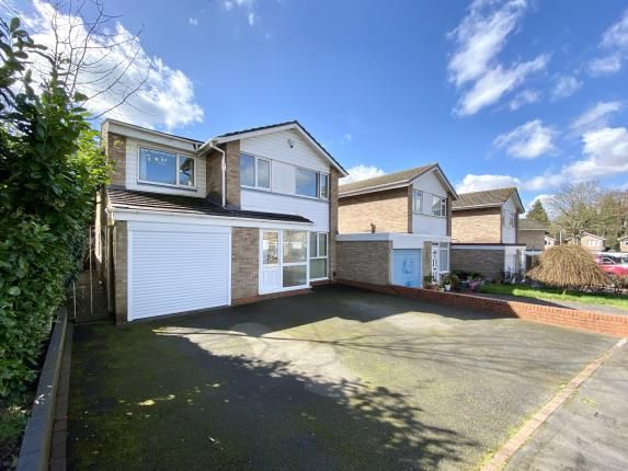 Thumbnail Detached house for sale in Banbrook Close, Solihull, West Midlands