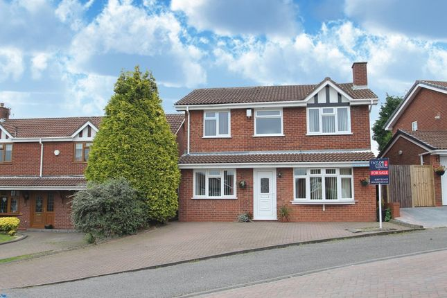 Thumbnail Detached house for sale in Deerhill, Wilnecote, Tamworth