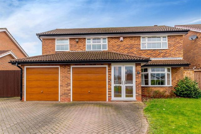 Thumbnail Detached house for sale in Willowbank Road, Knowle, Solihull
