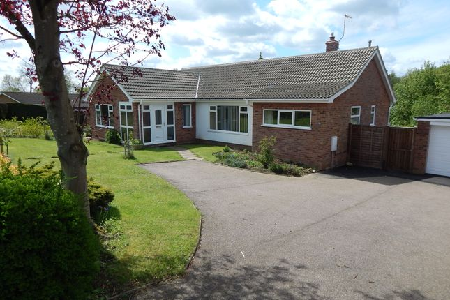 Thumbnail Detached bungalow for sale in Nelson Way, Beccles