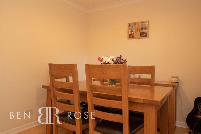 Dining Room of Fir Tree Close, Chorley PR7