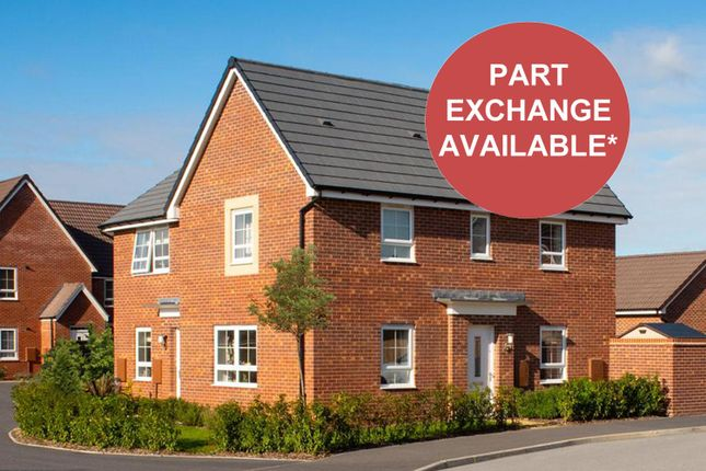 """Thumbnail Semi-detached house for sale in """"Moresby"""" at Musselburgh Way, Bourne"""