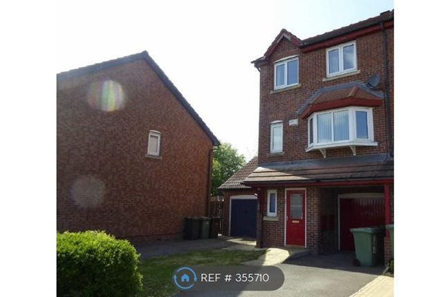 Thumbnail End terrace house to rent in Saxstead Rise, Leeds