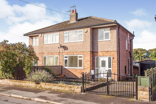 Thumbnail Semi-detached house for sale in Woodlands Crescent, Gomersal, Cleckheaton, West Yorkshire