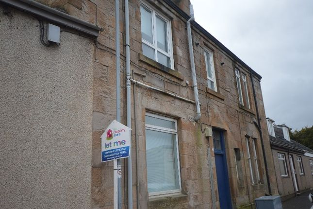 Thumbnail Flat to rent in Argyle Street, Stonehouse, South Lanarkshire
