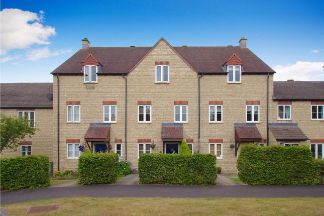 Thumbnail Terraced house to rent in Harvest Way, Witney, Oxfordshire