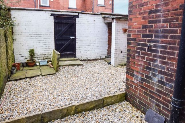 Rear Yard of Ivy Road, Smithills, Bolton BL1