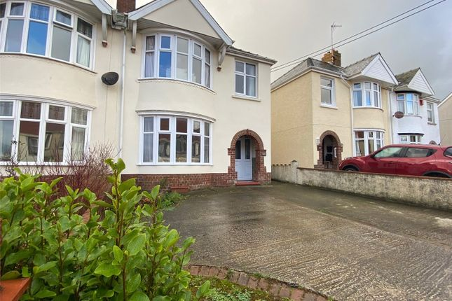 3 bed semi-detached house for sale in Murray Road, Milford Haven, Pembrokeshire SA73