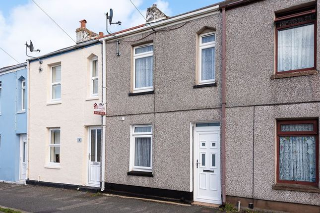 Main Elevation of Cliff View Terrace, Camborne TR14