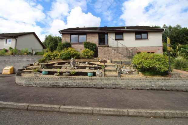 Thumbnail Bungalow for sale in Ravenscroft Road, Lochearnhead, Perthshire