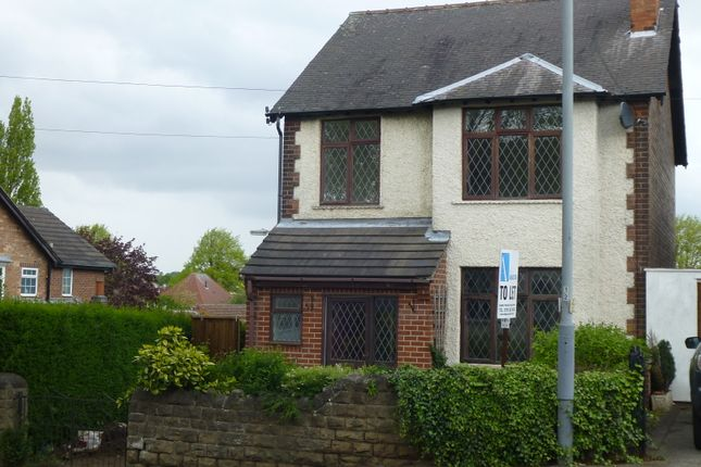 Thumbnail Detached house to rent in Breckhill Road, Woodthorpe