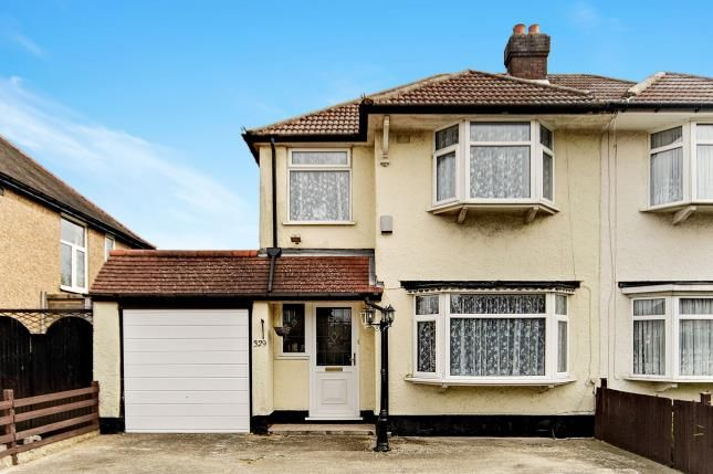 Thumbnail Semi-detached house for sale in Limpsfield Road, South Croydon