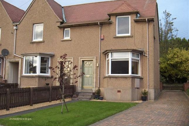 Thumbnail End terrace house to rent in Hill Place, Markinch, Fife