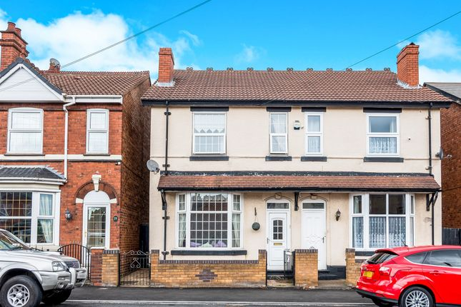 Thumbnail Semi-detached house for sale in Hydes Road, Wednesbury