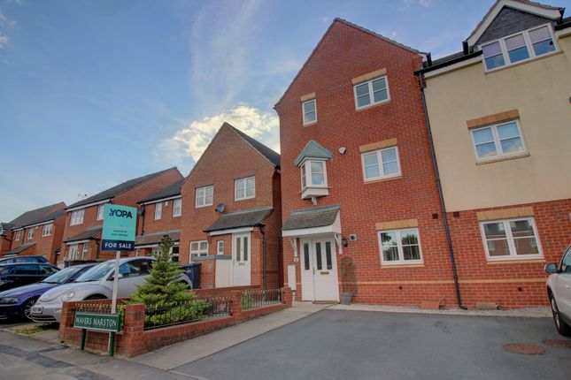 Thumbnail End terrace house for sale in Wavers Marston, Marston Green, Birmingham
