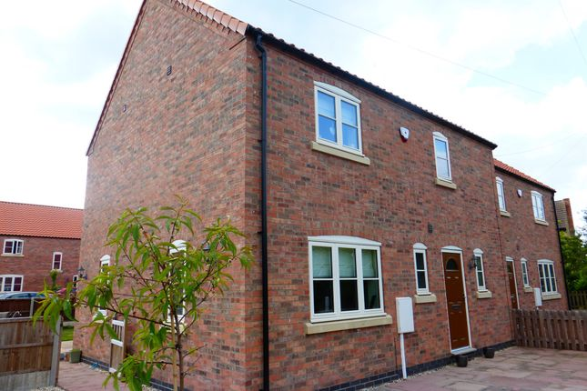 Thumbnail Semi-detached house for sale in Chestnut Court, Normanton-On-Trent, Newark