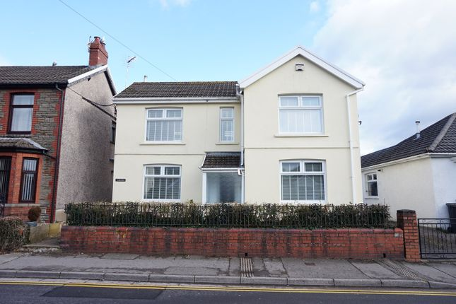 Thumbnail Detached house for sale in Llanarth Road, Pontllanfraith, Blackwood