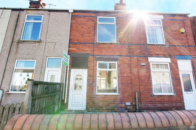 Thumbnail Terraced house to rent in Derby Road, Chesterfield, Derbyshire