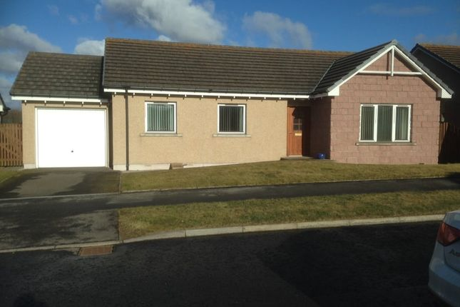 Thumbnail Detached bungalow for sale in Adamson Drive, Laurencekirk
