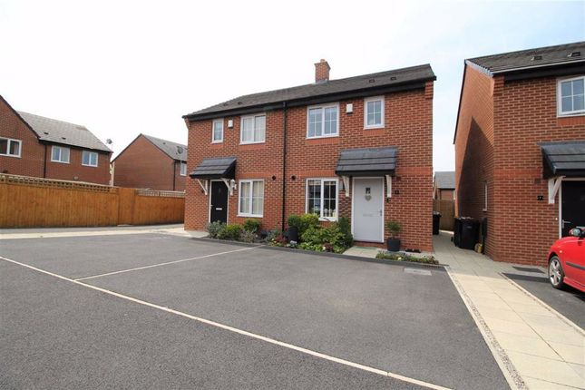 Thumbnail Semi-detached house for sale in Joyce Road, Whittingham, Preston