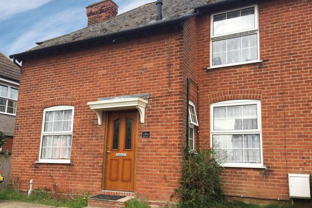 Thumbnail Semi-detached house for sale in Crownfields Cottages, Dedham, Essex