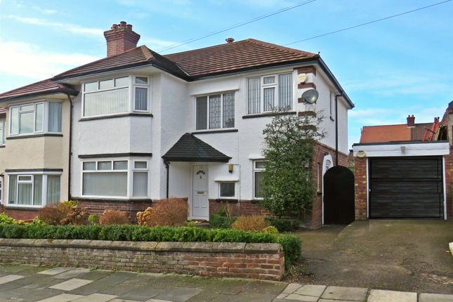 Thumbnail Semi-detached house for sale in Hurst Bank, Rock Ferry, Birkenhead