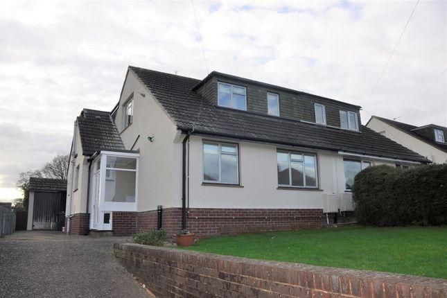 Thumbnail Semi-detached bungalow to rent in Park Lane, Pinhoe, Exeter