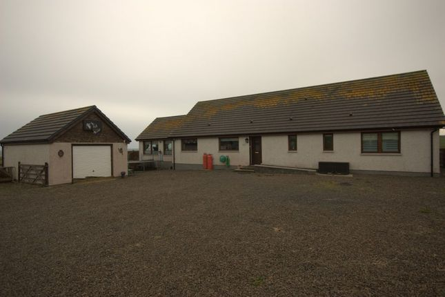 Thumbnail Detached bungalow for sale in Auckengill, Wick