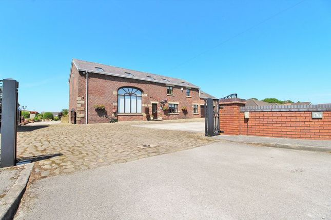 Thumbnail Equestrian property for sale in Renacres Lane, Shirdley Hill, Ormskirk