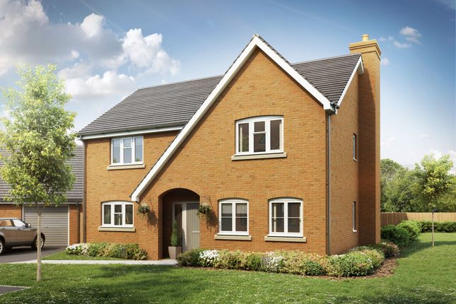 Thumbnail Detached house for sale in Swales Drive, Leighton Buzzard