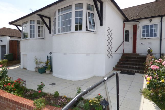 Thumbnail Semi-detached bungalow for sale in Connaught Avenue, East Barnet, Barnet