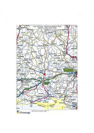 Directions: of 6.82 Acres Of Land At Penlan, Meidrim Road, Meidrim SA33