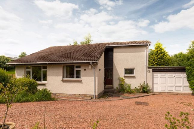 Thumbnail Detached bungalow for sale in 38 The Meadows, Peebles