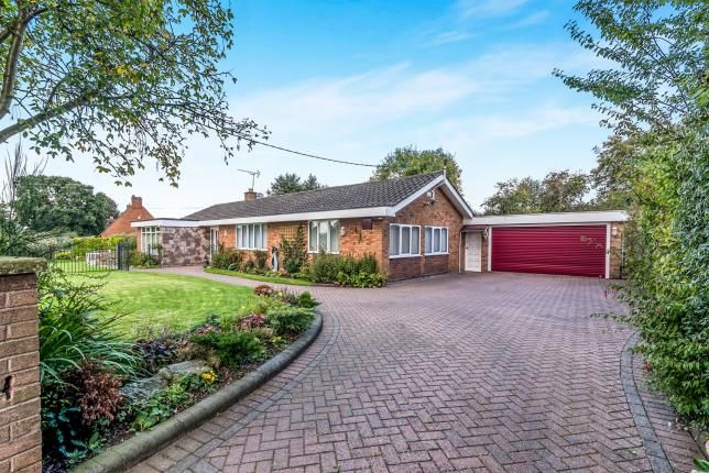 Thumbnail Bungalow for sale in White Cross, Haughton, Stafford, Staffordshire
