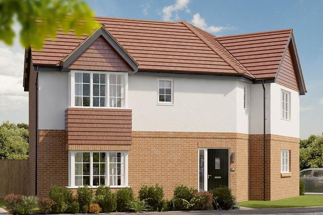 "Thumbnail Detached house for sale in ""The Oldbury"" at Berry Hill, Mansfield"