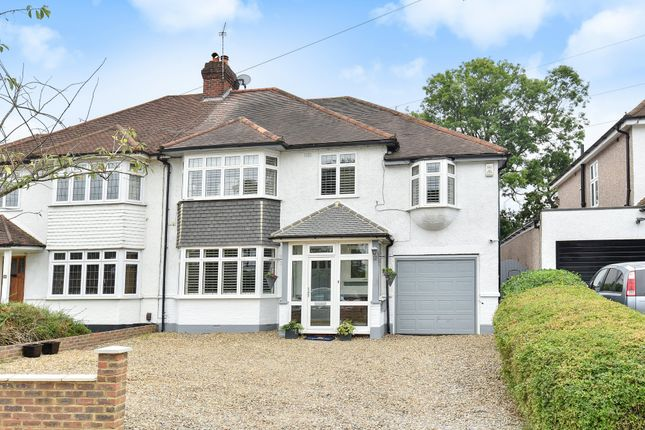 Thumbnail Semi-detached house for sale in Hayes Chase, West Wickham, Kent