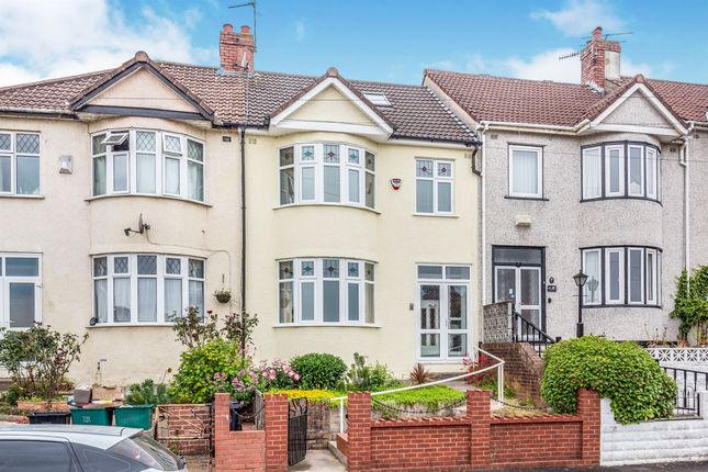 Thumbnail 3 bed terraced house for sale in Aylesbury Crescent, Bedminster, Bristol