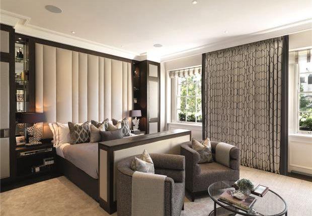 Master Bedroom of Chester Square, Belgravia, London SW1W