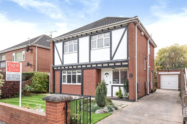 Thumbnail Detached house for sale in Eaton Court, Grimsby