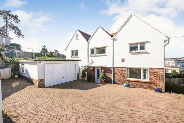 Thumbnail Detached house for sale in Rock End Avenue, Torquay
