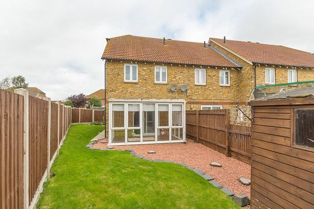 Thumbnail End terrace house to rent in The Saltings, Iwade, Sittingbourne