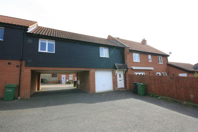 Thumbnail Terraced house for sale in Jasmine Walk, Cringleford, Freehold Coach House
