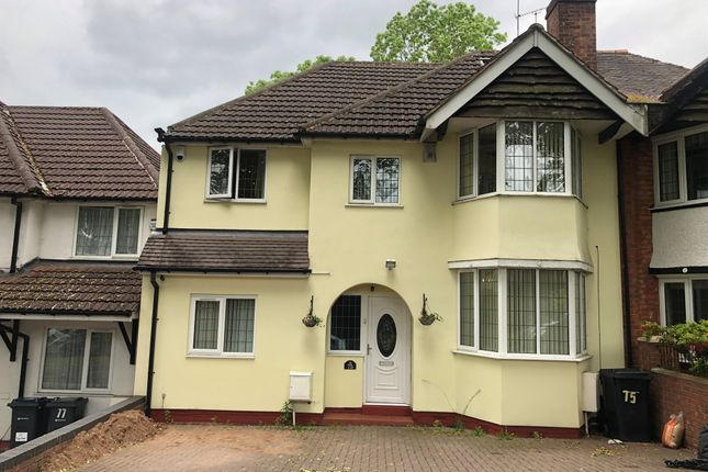 Thumbnail Semi-detached house for sale in Tixall Road, Hall Green, Birmingham