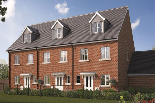 Thumbnail Town house for sale in Farrendon Court, Off Stratford Close, Aston Clinton