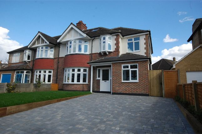 Thumbnail Semi-detached house for sale in Gloucester Road, Teddington