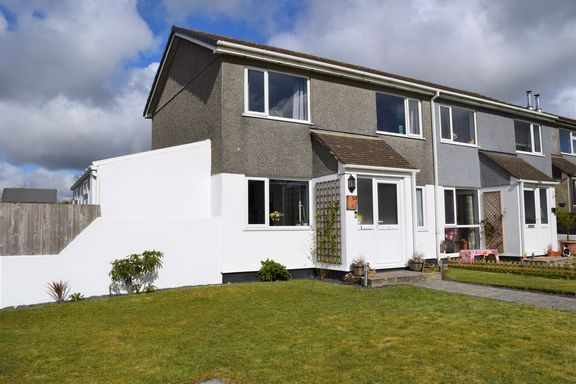 3 bed end terrace house for sale in Boskenna Road, Four Lanes, Redruth TR16