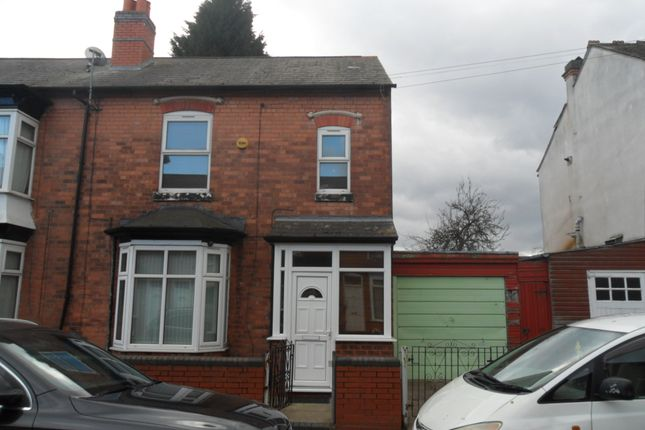 Thumbnail Semi-detached house to rent in Willmore Road, Perry Barr, Birmingham