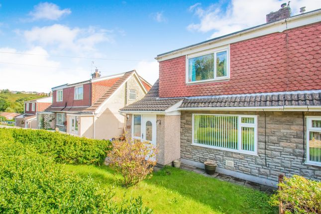 Thumbnail Semi-detached house for sale in Heathlands, Ystrad Mynach, Hengoed